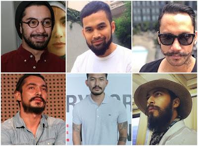 Artis dan Selebriti Pria Indonesia yang Ikuti Tren Lebatkan Brewok