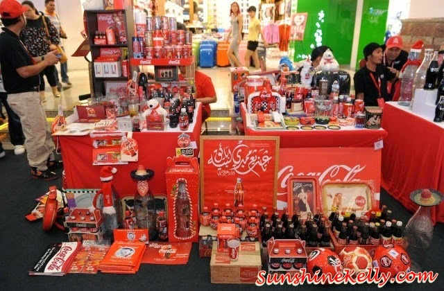 Coca-Cola Collectors Fair 2014 in Malaysia, Coca-Cola Collectors Fair, Coke Collectors, Coca-Cola Day, 2014 FIFA World Cup Brazil, Berjaya Times Square