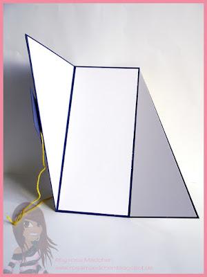 Stampin' Up! rosa Mädchen Kulmbach: Triangle Tri-Fold Card mit Grüße rund ums Jahr und Designerpapier Straßenfest