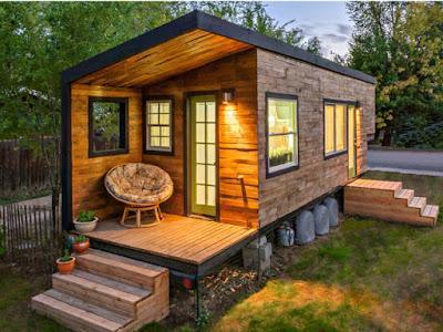 micro maison en bois