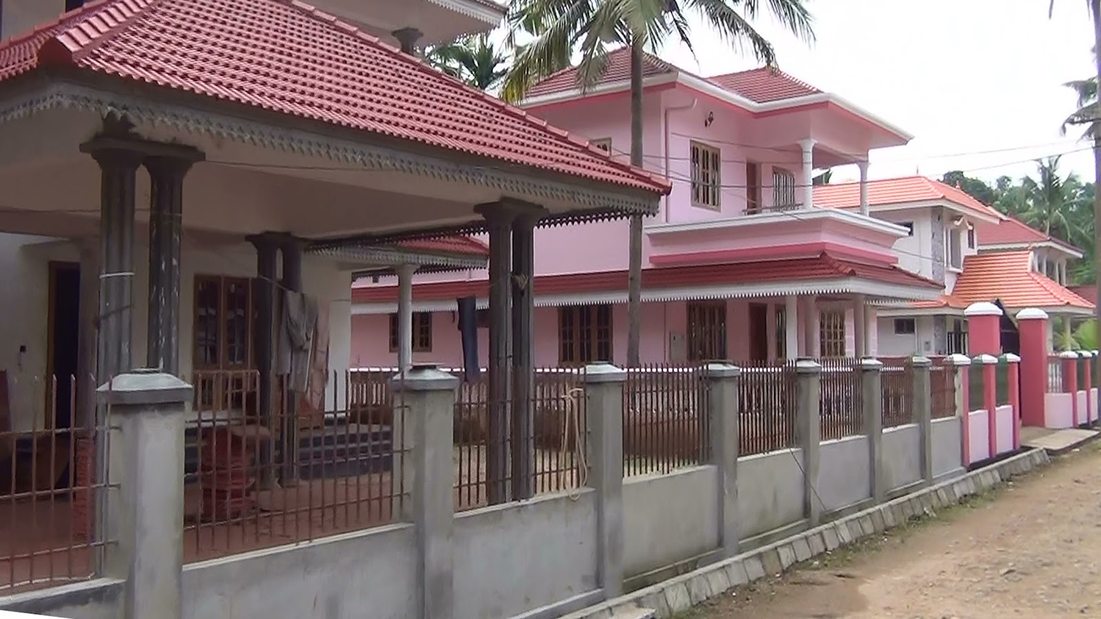 House compound wall designs in kerala - Home design and style