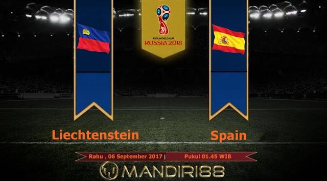 Prediksi Bola : Liechtenstein Vs Spain , Rabu 06 September 2017 Pukul 01.45 WIB