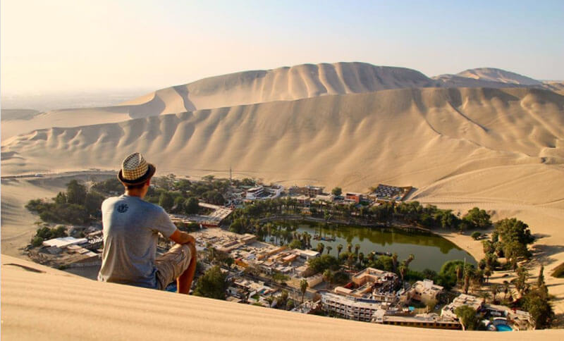 32 Stunning Places on Earth You Should Visit Before You Die - Huacachina Oasis, Peru