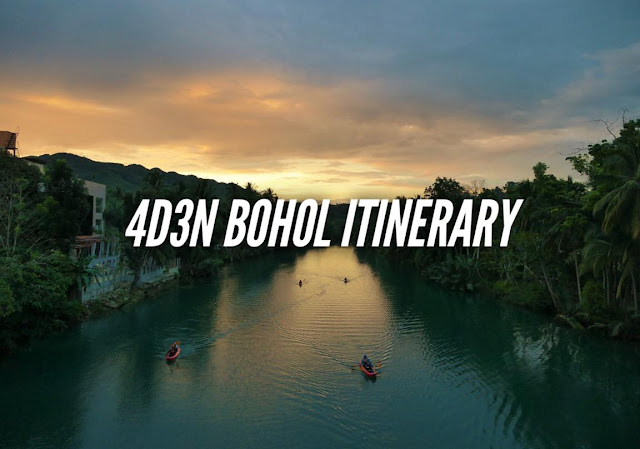 4 DAYS BOHOL ITINERARY TRAVEL GUIDE BLOG