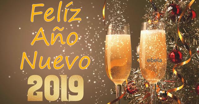feliz año nuevo 2019 copas