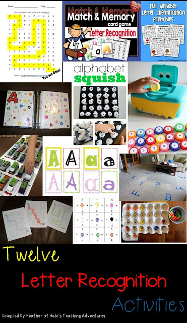 Letter Recognition & Discrimination FREEBIES, Ideas, and Resources