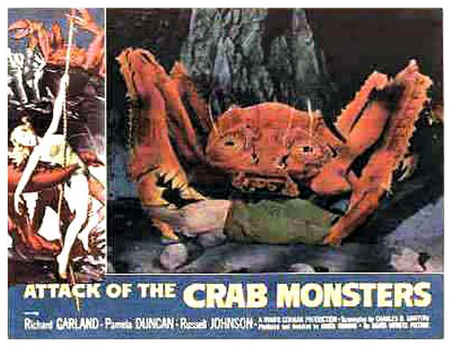 13: MONSTER MOVIES ROGER CORMAN PRODUCED IN THE FIFTIES!