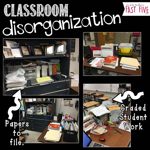 High School English Classroom Organization