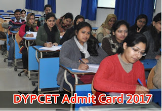 DYPCET Admit Card 2017, DYPCET MBA 2017 Exam Date dypatil.edu