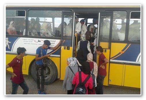 """النقل المدرسي في """"قرى اشتوكة"""".. أسطول وفير وإكراهات بالجملة"""