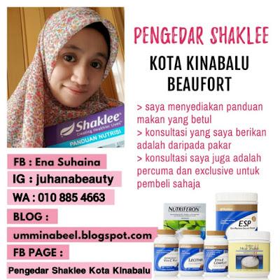 Pengedar Shaklee aktif di seluruh Sabah kawasan Kota Kinabalu dan Beaufort