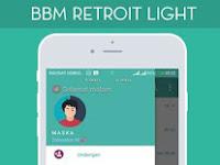 BBM MOD Retroit Light apk | Base v3.3.4.48 Apk