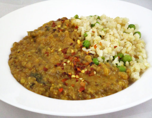 Lemony Mixed Dal