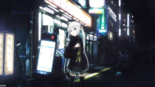 Night - Anime Night Wallpaper