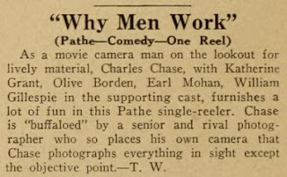 Olive Borden Why Men Work