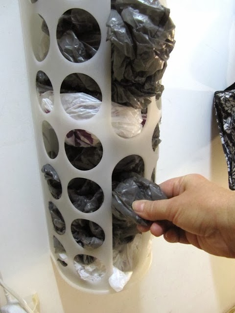 Sew Many Ways...: Organizing...Ideas For Ikea Plastic Bag