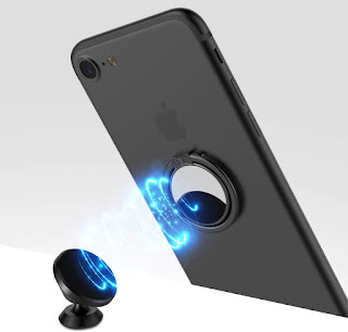 Mirror Cellphone Ring Stand Holder