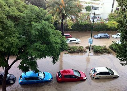 Floods In Tel Aviv Bat Yam And Kfar Saba
