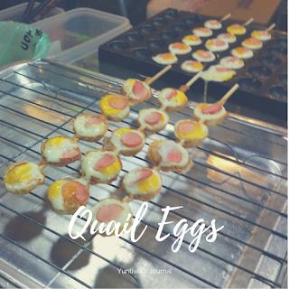 Jajanan dan Makanan Ringan khas Melaka Malaysia - Sate Telur Puyuh