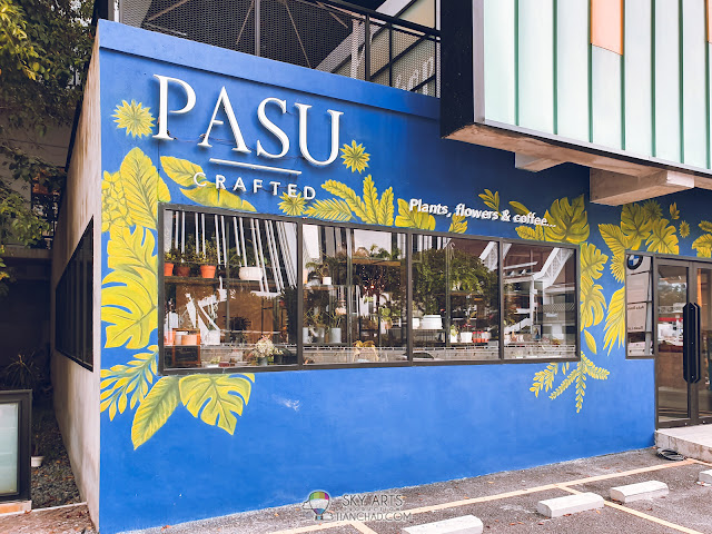 Most Instagrammable spot in Kuala Lumpur The PASU LINC KL Mall with colorful owl mural arts Ben's Independant Grocer