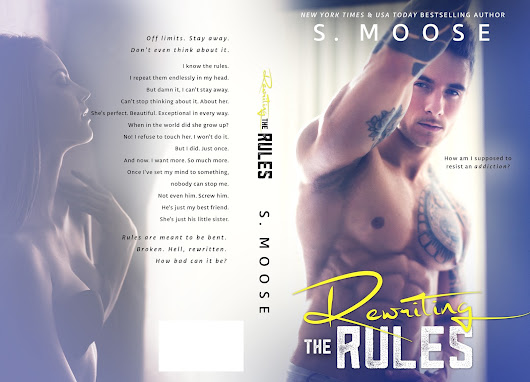 Cover Reveal ~ Rewriting the Rules by S. Moose