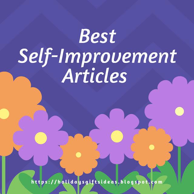 Self Improvement Articles