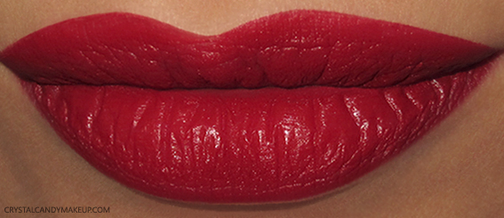 NARS Velvet Matte Lip Pencil Mysterious Red Swatch