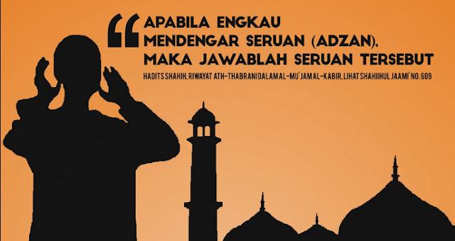 Hasil gambar untuk Bacaan Doa Setelah Adzan Dan Iqomah