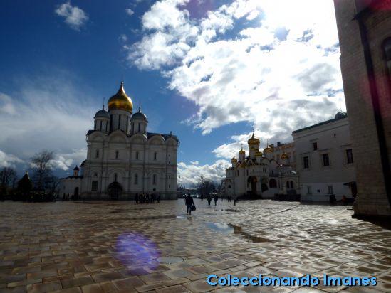 Kremlin de Moscú: Plaza de las Catedrales
