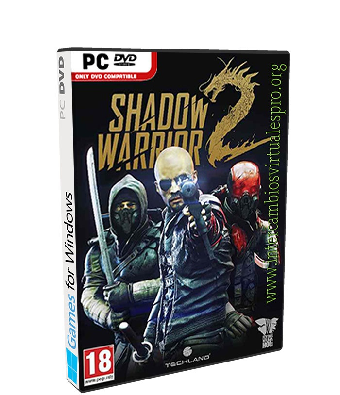 Shadow Warrior 2 poster box cover
