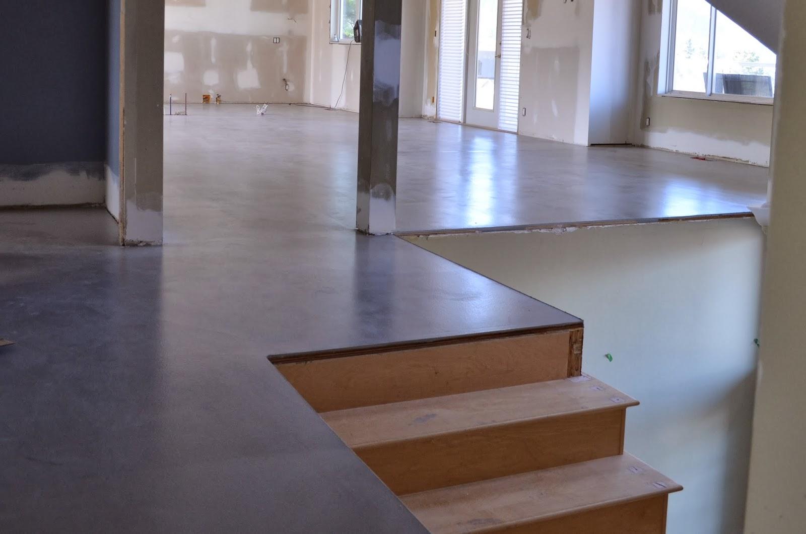 Mode Concrete Ante Up Any E With Contemporary Floors