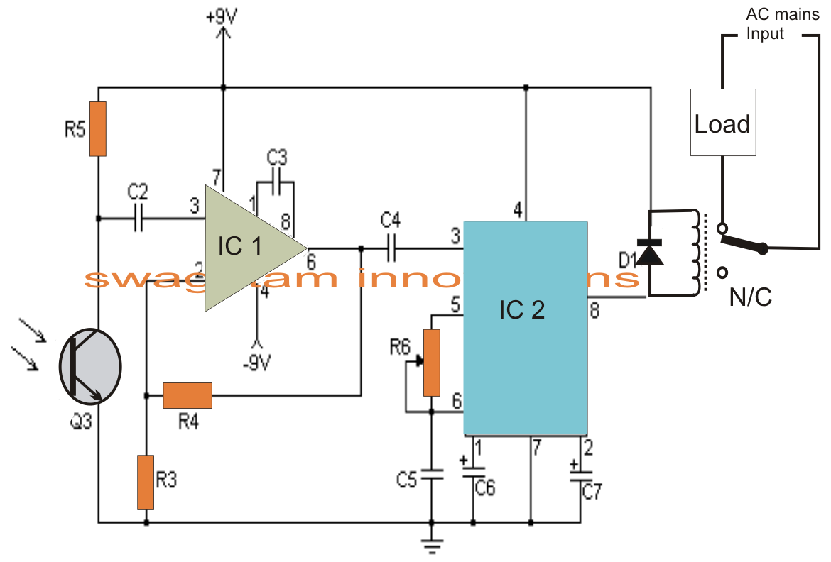 ir transmitter and receiver circuit diagram pdf [ 1170 x 792 Pixel ]
