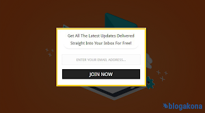 How to Add Email Subscription Widget In Blogger