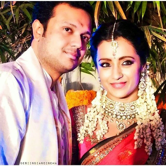 varun and trisha at their engagement 💍💕