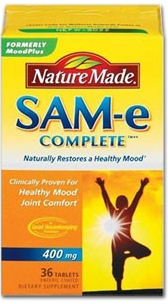 Nature Made SAM-e Complete (36 tablets, 400 mg/each) Product Shot