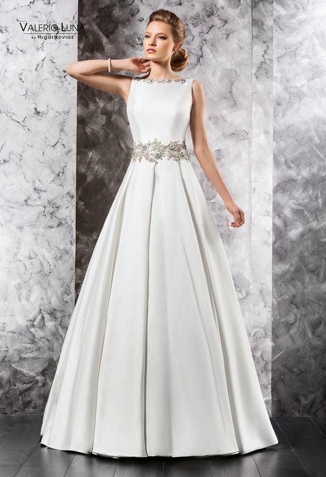 aea82abb2 Las bodas de Raquel  Vestido de novia de Valerio Luna para Higar Novias
