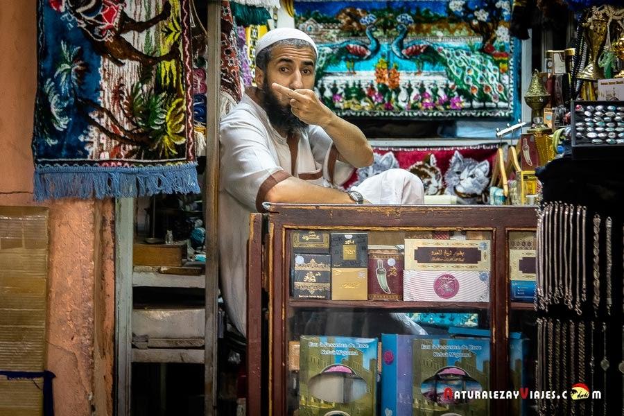 Zoco de Marrakech, Marruecos