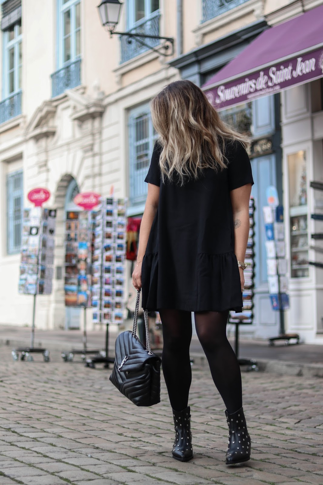 robe noire frnch parisgrenoble