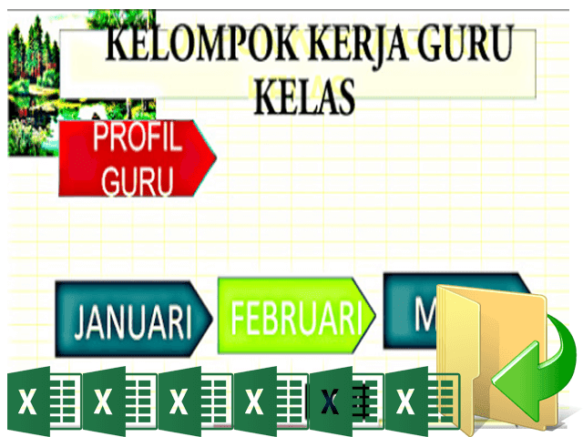 Download Aplikasi KKG Full Versi Terbaru Format Excel