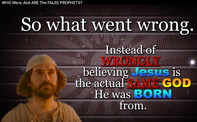 IS JESUS THE SAME GOD HE WAS BORN FROM?