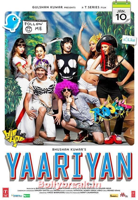 Nicole Faria, Serah Singh, Rakul Preet - Film:  Yaariyaan  Release date: January 10, Bollywood Debutant Heroines of 2014