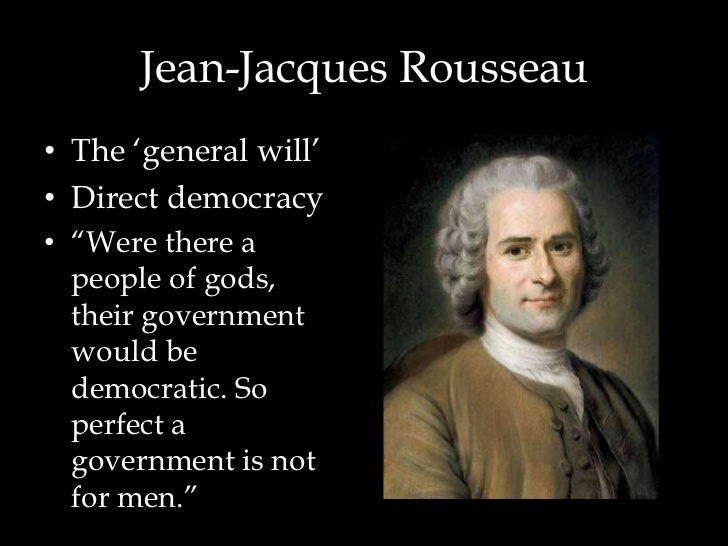 The trouble with rousseau