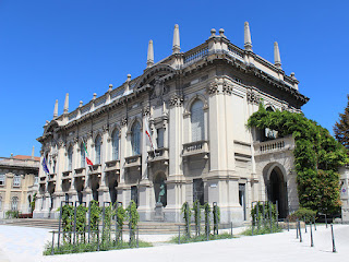 The rectorate of the Politecnico di Milano in Piazza Leonardo da Vinci