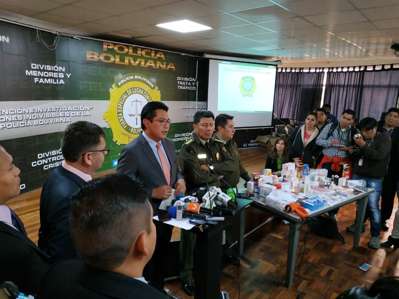 Policía y AGEMED alertan delito contra la salud pública en este caso / ÁNGEL SALAZAR