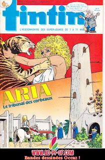 Tintin, numéro 25, année 1985