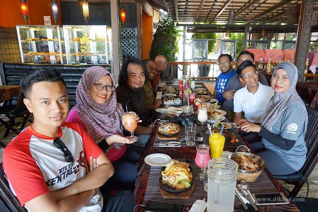 Menu Sedap Di Ombak Cafe, Pulau Perhentian Kecil