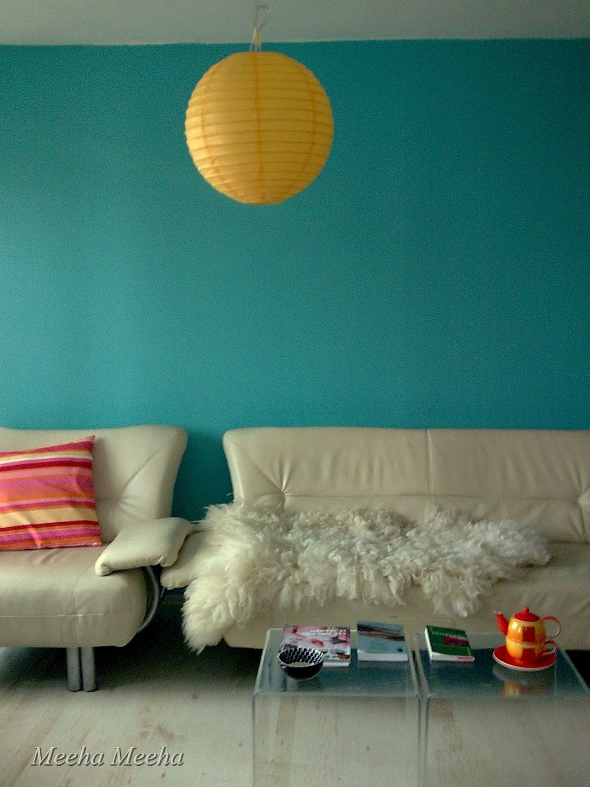 marvellous turquoise living room | Meeha Meeha: Turquoise living room