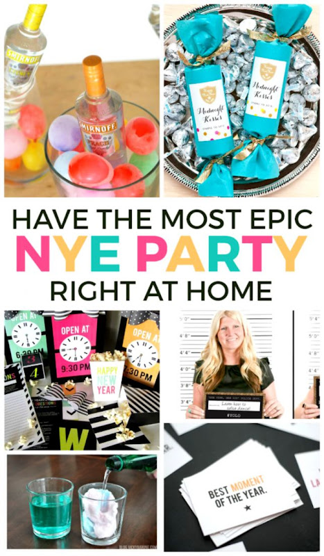 20 Ways To Have An Epic At Home New Years Eve Party