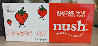 Nush Almond Milk strawberry yogurt