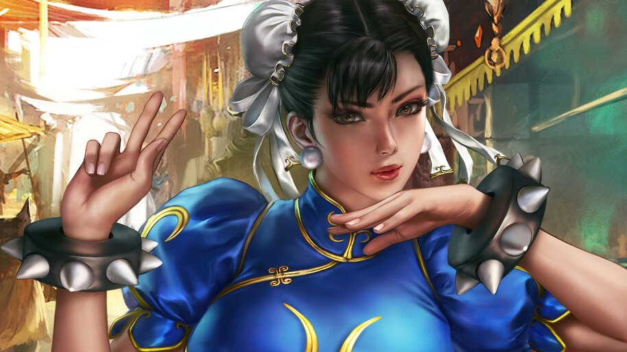 Chun Li, Street Fighter, Girl, 4K, #6.1615